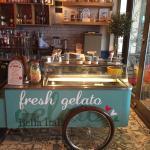 Bella's Gelato Cart..