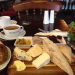 The Ploughmans is well worth a try, mmm