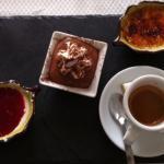 Salade Eboli, café gourmand, gnocchi ou pâtes du jour...