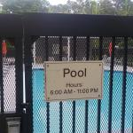 Pool hours @ Hampton Inn & Suites Alpharetta