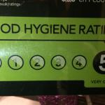 Our Food Hygiene Rating.