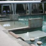 More pools and lounging areas