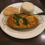 Malay Chicken Ayam lunch set.