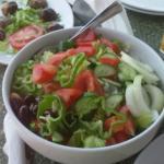 Big Greek village salad
