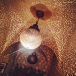 Decoration at the Riad