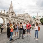 Walking tour in the Buda Castle District