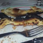 voila la belella pizza qu'o nous a servis