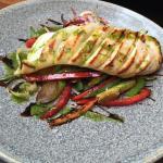 calamar con verduras