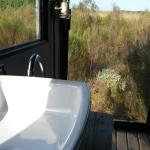 Bathroom was spectacular...sliding door opened...showering in the fynbush veld