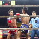 Muay Thai at Klong Dao Stadium Foto