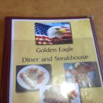 Golden Eagle Family Diner - menu
