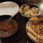 Chic Korai with Naan bread