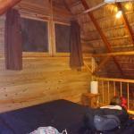 Chambre en mezzanine avec lit XXXL