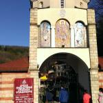 The entrance to the monestary.