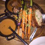 Roast Pork and Veal Liver