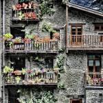 Casas tipicas de Andorra