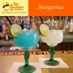 Dozens of margarita options to choose from.