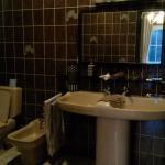 """Salle de bain avec baignoire, chambre """"Les Cresses"""""""