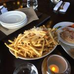 The truffle fries. SO good!