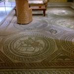 Restored floor mosaic.