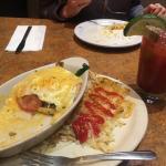 Dinner/breakfast of champs
