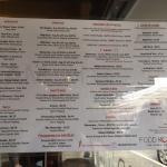 Food Koma menu