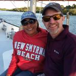 A wonderful private sunset cruise for two! Can't get more romantic than that!