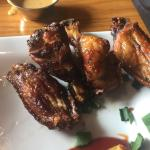 Smoked wings usually pretty good here but these were a little crispy on Friday 15th