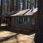 The Willy's Knight cabin at Camp Richardson