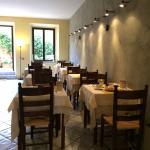 Restaurante do Albergo Duomo, em Montepulciano, Itália