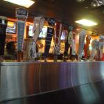 Rickey's - variety of different beers on tap