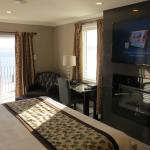 Newly built luxury waterfront suites