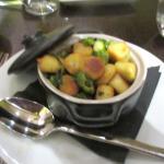 Gnocchi with Asparagus, Basil, Carmel, CA