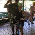 Antigua Rainforest Canopy Tour Foto