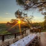 The NEW Camp Okavango is elevated and looks out over the Okavango Delta.