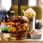 The mother clucker burger
