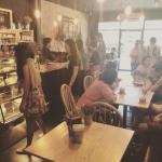 Number 1 cafe in Krabi town. Next from Krabi river.