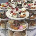 High tea at the Meeting House Cafe