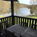 Balcony - Loch Monzievaird Self Catering Lodges Photo