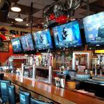 Remodeled bar at Quaker Steak