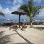 la plage de l'hotel bakaoua derrière la résidence