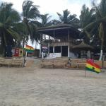 Best place close to the ocean to be inside cape coast.ghana.west africa.