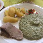 Tafelspitz mit grüner Soße