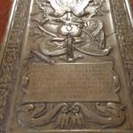 Lapide tomba degli Estensi