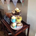 Lovely choice of homemade cakes!