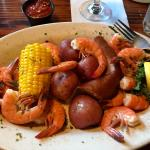 The low country boil at Steamers