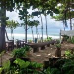Extensão do restaurante, área de lazer, relaxamento e contemplação.