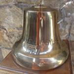 Original Chapel Bell On Display Hyatt Carmel Highlands, Ca