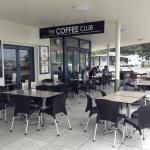 The Coffee Club patio.