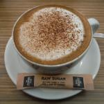 Cappuccino with cinnamon instead of chocolate (must request).